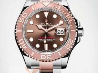 Rolex Yachtmaster 2017 rose gold new with local guarentee