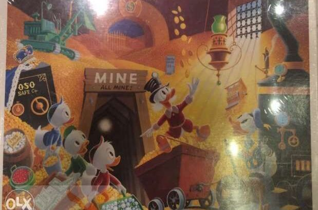 Jigsaw Gallery Disney Characters Special Art Collection by Carl Barks