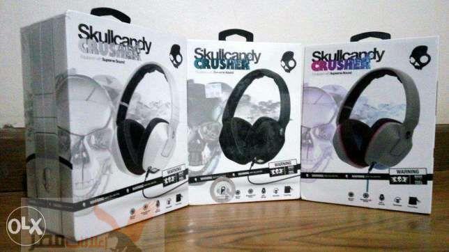 Skullcandy HeadPhones Original INK'D 2 HESH 2 CRUSHER SMOKIN BUDS 2