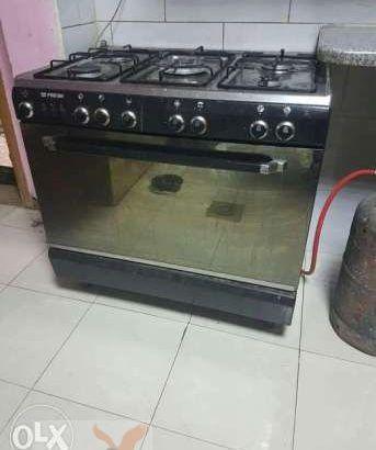 Gas stove.